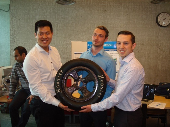 Formula SAE Light Weight Wheel Design