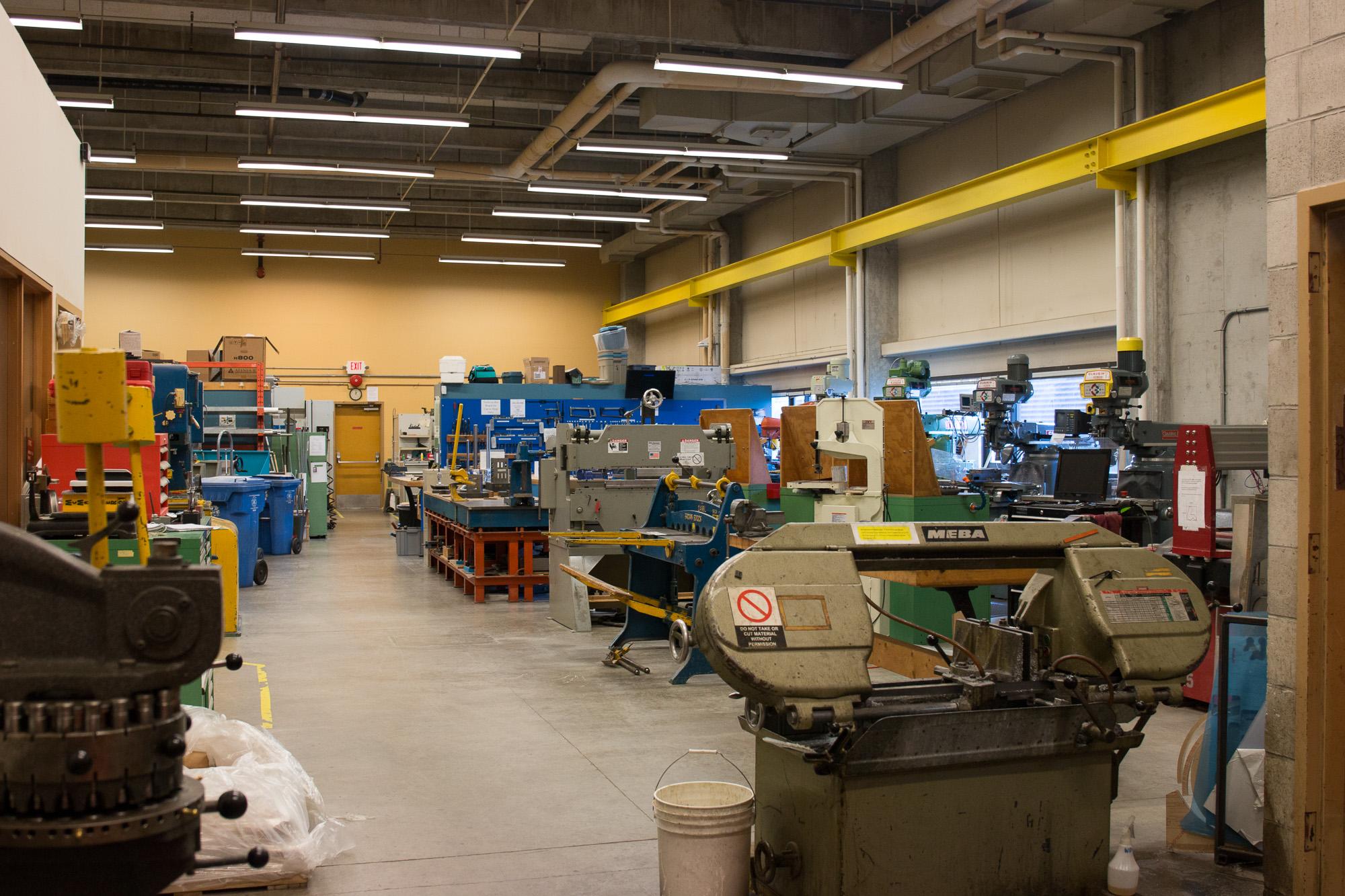 Machine Shop Ubc Mechanical Engineering
